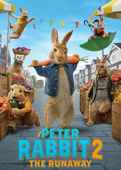 دانلود انیمیشن Peter Rabbit 2: The Runaway 2021 با زیر نویس فارسی